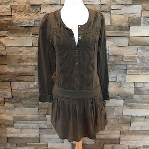 Tops - Olive green/taupe top/dress